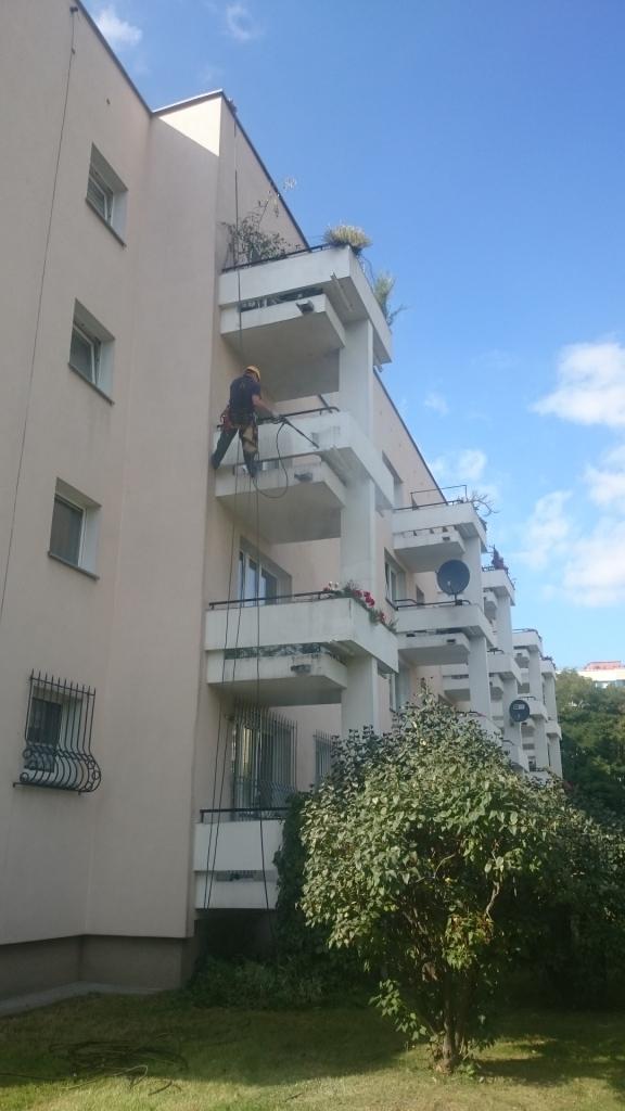 Mycie balkonów