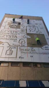 reverse graffiti warszawa
